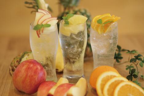 フルーツサワー アップル/パイン/オレンジ