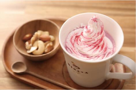 ルビーチョコレート HOT/ICE