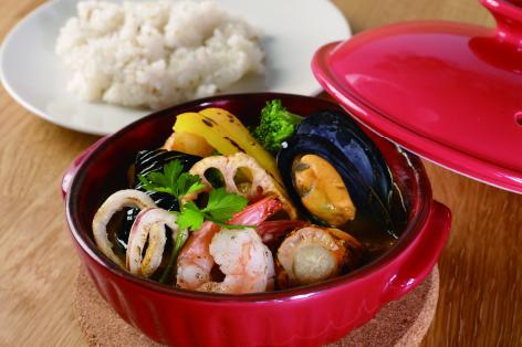 伊勢志摩魚介スープカレー