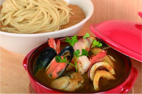伊勢志摩魚介カレーつけ麺 ¥1,980